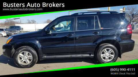 2003 Lexus GX 470 for sale at Busters Auto Brokers in Mitchell SD