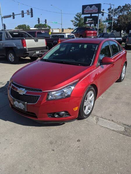 2014 Chevrolet Cruze for sale at Corridor Motors in Cedar Rapids IA