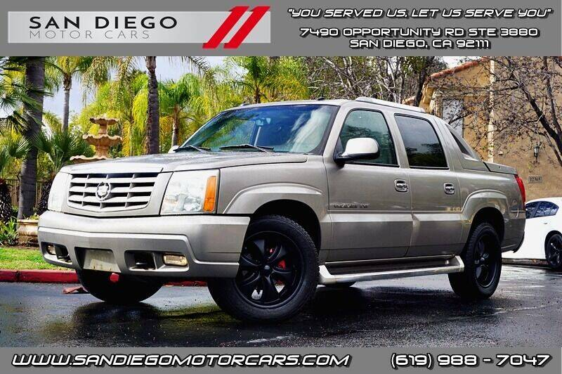 2003 Cadillac Escalade EXT for sale in San Diego, CA