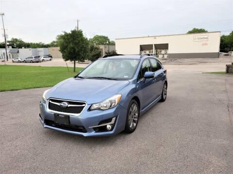 2015 Subaru Impreza for sale at Image Auto Sales in Dallas TX