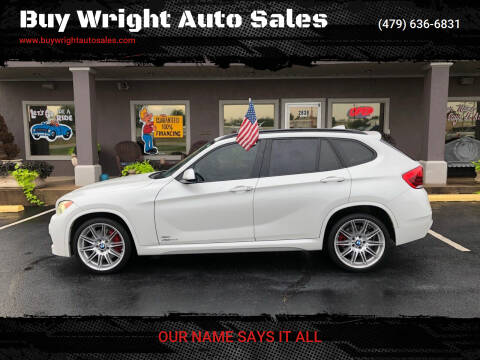 2013 BMW X1 for sale at Buy Wright Auto Sales in Rogers AR