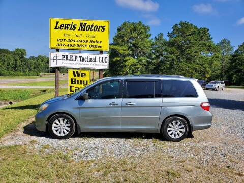 2005 Honda Odyssey for sale at Lewis Motors LLC in Deridder LA