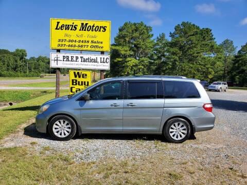 2005 Honda Odyssey for sale at Lewis Motors LLC in Deridder LA
