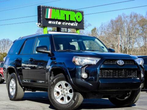 2016 Toyota 4Runner for sale at Used Imports Auto - Metro Auto Credit in Smyrna GA