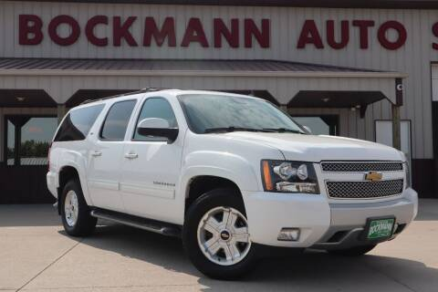 2014 Chevrolet Suburban for sale at Bockmann Auto Sales in Saint Paul NE