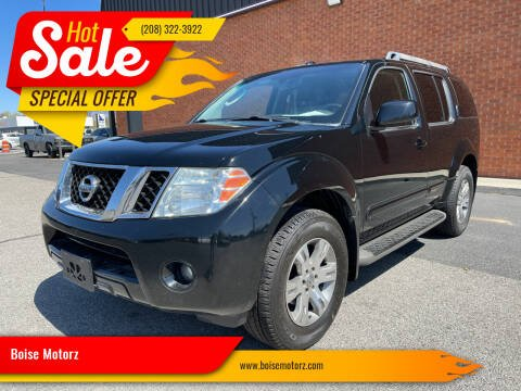 2010 Nissan Pathfinder for sale at Boise Motorz in Boise ID