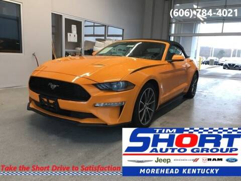 2019 Ford Mustang for sale at Tim Short Chrysler in Morehead KY