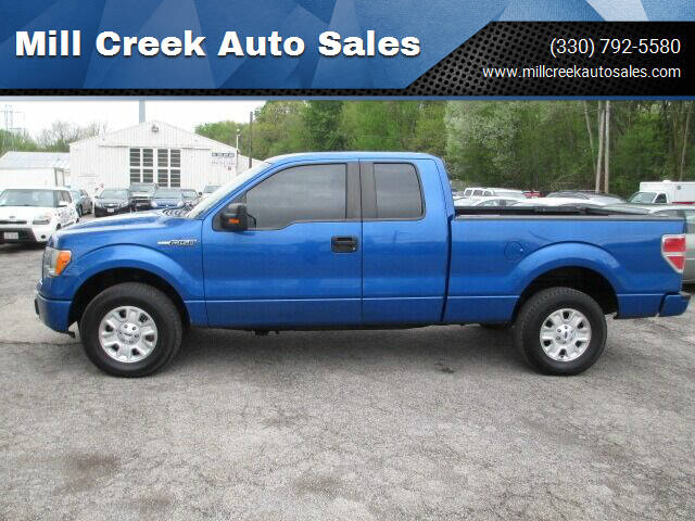 2011 Ford F-150 for sale at Mill Creek Auto Sales in Youngstown OH