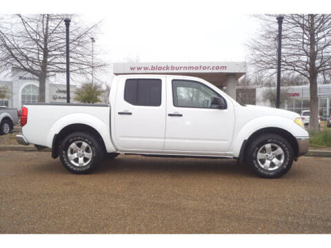 2010 Nissan Frontier for sale at BLACKBURN MOTOR CO in Vicksburg MS
