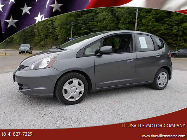 2013 Honda Fit for sale at Titusville Motor Company in Titusville PA