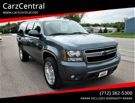 2009 Chevrolet Suburban for sale at CarzCentral in Estherville IA