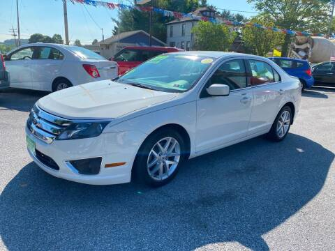 2012 Ford Fusion for sale at McNamara Auto Sales - Red Lion Lot in Red Lion PA