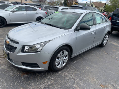 2012 Chevrolet Cruze for sale at PAPERLAND MOTORS in Green Bay WI