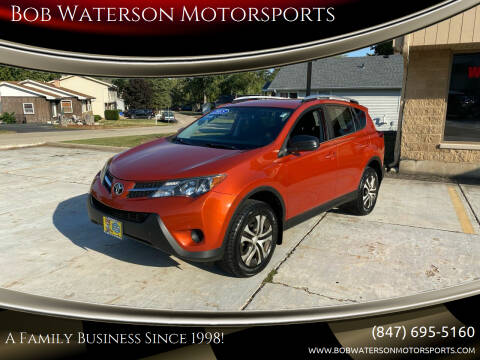 2015 Toyota RAV4 for sale at Bob Waterson Motorsports in South Elgin IL