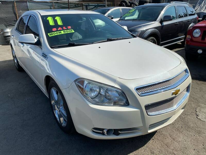 2011 Chevrolet Malibu for sale at CAR GENERATION CENTER, INC. in Los Angeles CA