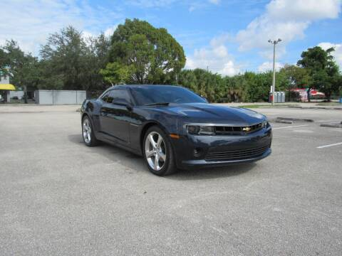 2014 Chevrolet Camaro for sale at United Auto Center in Davie FL
