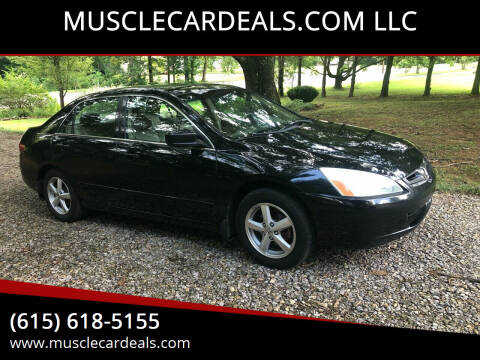 2005 Honda Accord for sale at MUSCLECARDEALS.COM LLC - 4 in White Bluff TN