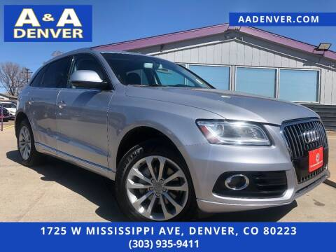 2015 Audi Q5 for sale at A & A AUTO LLC in Denver CO