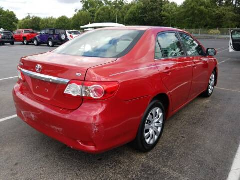 2013 Toyota Corolla for sale at Gulf Financial Solutions Inc DBA GFS Autos in Panama City Beach FL
