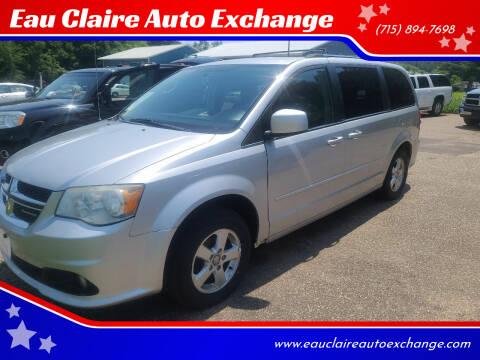 2011 Dodge Grand Caravan for sale at Eau Claire Auto Exchange in Elk Mound WI