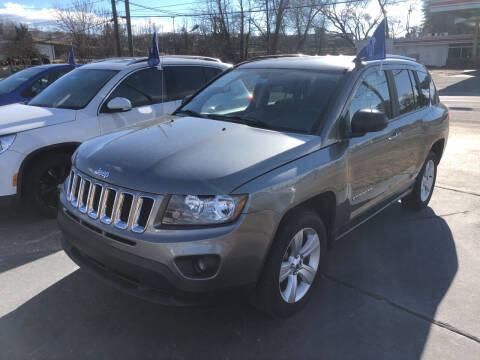 2014 Jeep Compass for sale at Car Guys in Lenoir NC