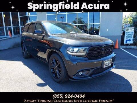2017 Dodge Durango for sale at SPRINGFIELD ACURA in Springfield NJ