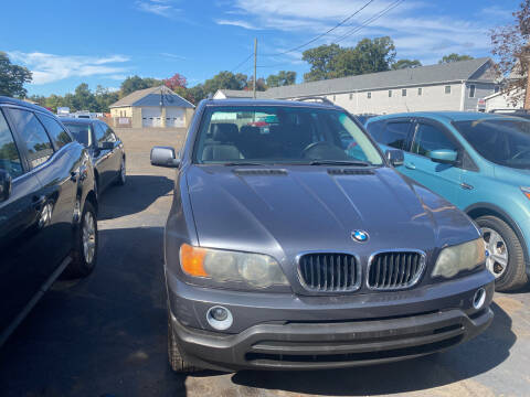 2003 BMW X5 for sale at Whiting Motors in Plainville CT