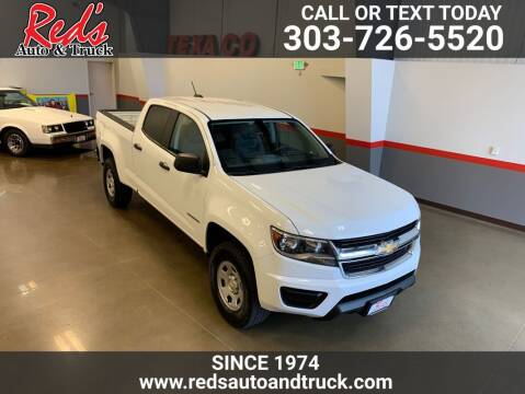 2015 Chevrolet Colorado for sale at Red's Auto and Truck in Longmont CO