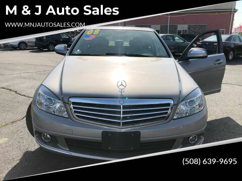 2008 Mercedes-Benz C-Class for sale at M & J Auto Sales in Attleboro MA