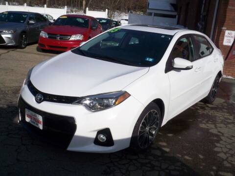 2015 Toyota Corolla for sale at Charlies Auto Village in Pelham NH