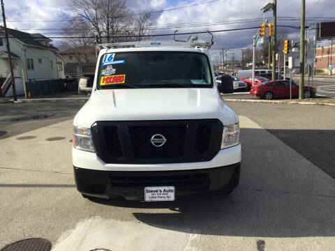 2016 Nissan NV Cargo for sale at Steves Auto Sales in Little Ferry NJ