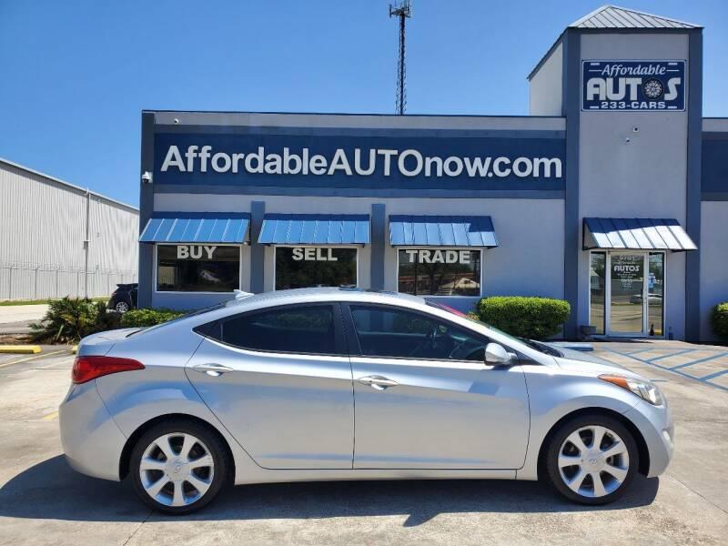 2013 Hyundai Elantra for sale at Affordable Autos in Houma LA