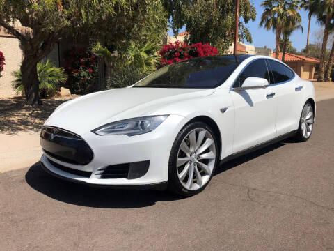 2012 Tesla Model S for sale at Arizona Hybrid Cars in Scottsdale AZ