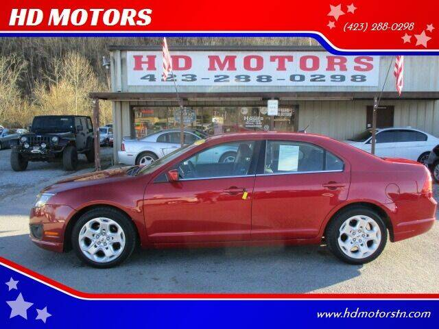 2010 Ford Fusion for sale at HD MOTORS in Kingsport TN