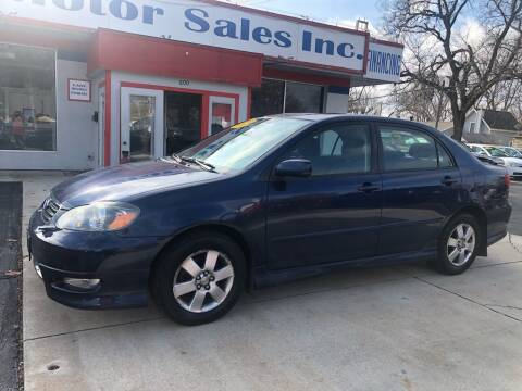 2008 Toyota Corolla for sale at TNT Motor Sales in Oregon IL