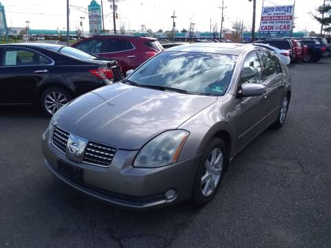 2004 Nissan Maxima for sale at Wilson Investments LLC in Ewing NJ