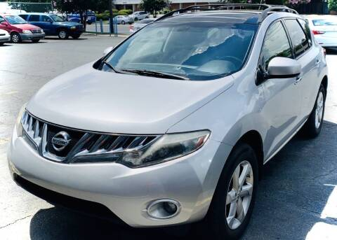 2010 Nissan Murano for sale at RD Motors, Inc in Charlotte NC