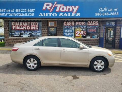 2007 Toyota Camry for sale at R Tony Auto Sales in Clinton Township MI