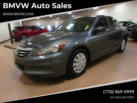 2012 Honda Accord for sale at BMVW Auto Sales in Union City GA