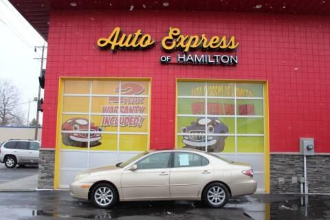 2004 Lexus ES 330 for sale at AUTO EXPRESS OF HAMILTON LLC in Hamilton OH