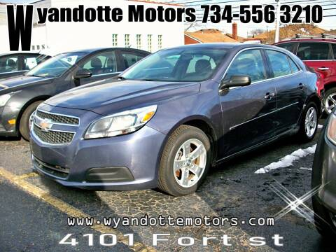2013 Chevrolet Malibu for sale at Wyandotte Motors in Wyandotte MI