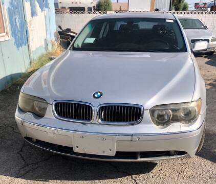 2002 BMW 7 Series for sale at GEM Motorcars in Henderson NV