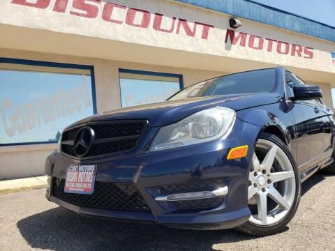 2012 Mercedes-Benz C-Class for sale at Discount Motors in Pueblo CO