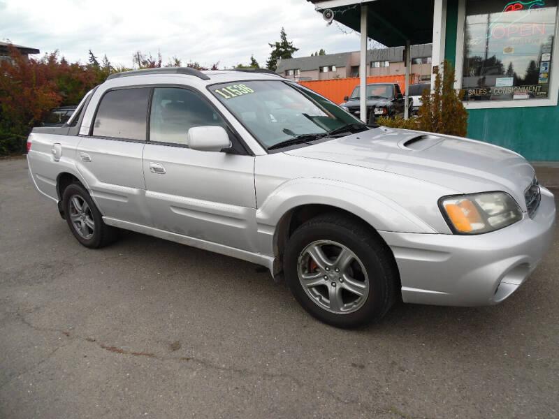 2004 Subaru Baja for sale at Gary's Cars & Trucks in Port Townsend WA