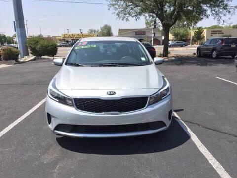 2017 Kia Forte for sale at ALBUQUERQUE AUTO OUTLET in Albuquerque NM