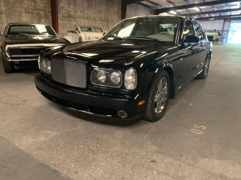 2002 Bentley Arnage for sale at American Classic Car Sales in Sarasota FL