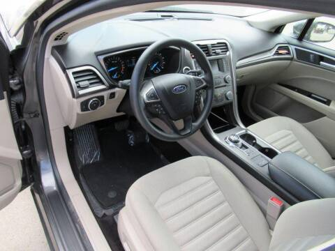 2017 Ford Fusion for sale at Aztec Motors in Des Moines IA