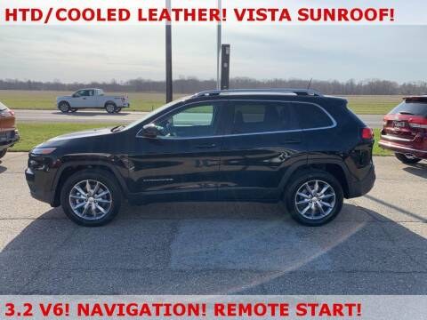 2017 Jeep Cherokee for sale at Miedema Auto Sales in Allendale MI