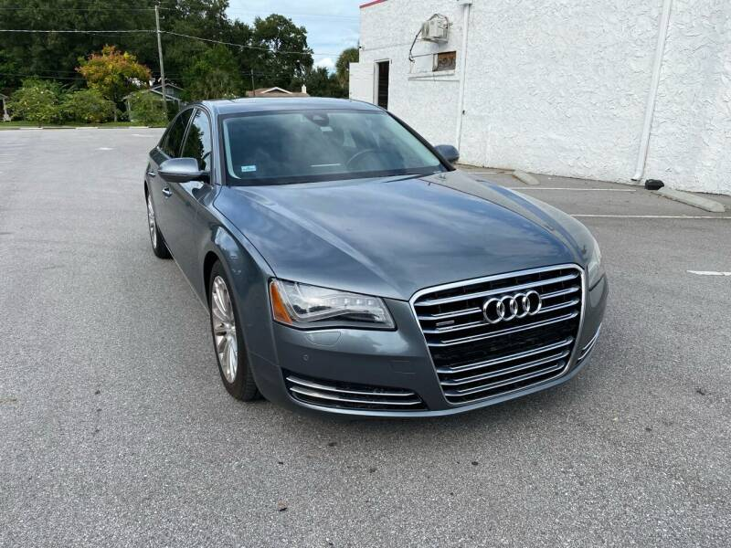 2014 Audi A8 for sale at LUXURY AUTO MALL in Tampa FL