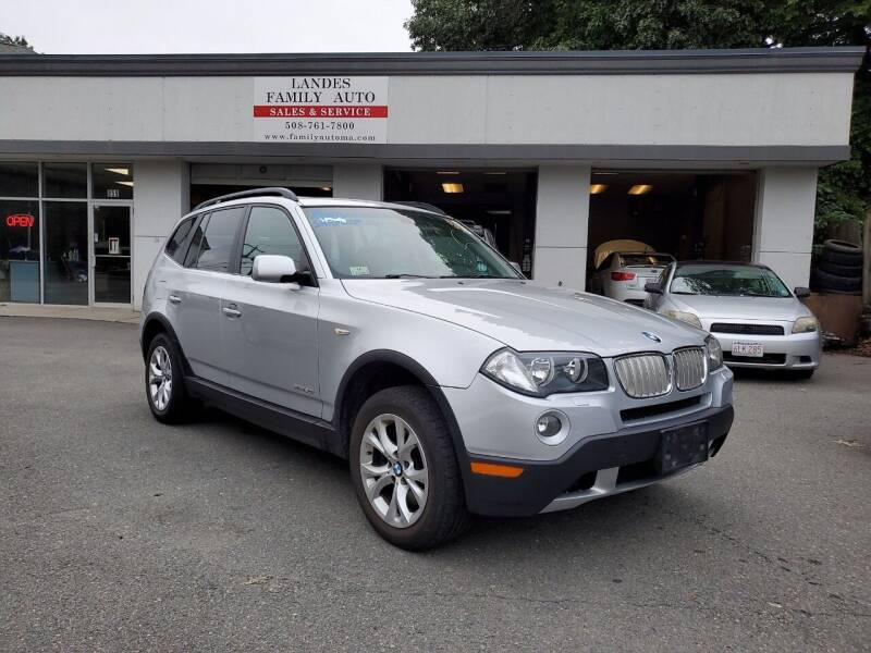 2009 BMW X3 for sale at Landes Family Auto Sales in Attleboro MA